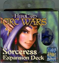 Herocard : Orc Wars Sorceress Expansion Deck