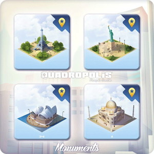 "Quadropolis - Extension ""Monuments du Monde"""