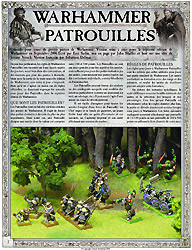 Warhammer patrouilles