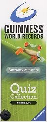 Guinness Quiz Animaux et nature
