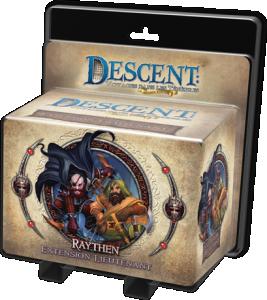Descent : Voyages dans les Tenebres ! - Pack Lieutenant Raythen