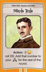 Nations - Carte promotionnelle 'Nikola Tesla'