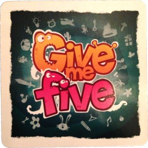 Give Me Five - Carte Promo Paris Est Ludique