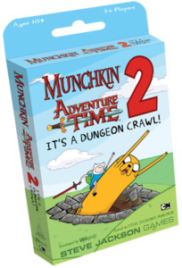 Munchkin Adventure Time 2 : It's a dungeon crawl!