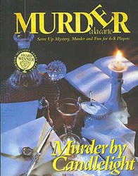 Murder à la carte : Murder by candlelight