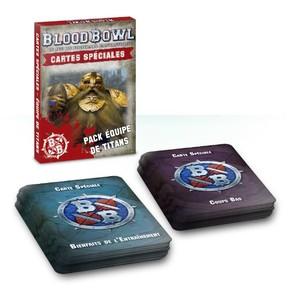 Blood Bowl: Cartes Spéciales - Équipe de Titans
