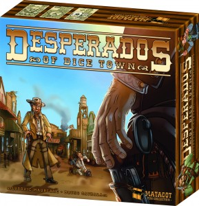 Desperados Of Dice Town 2014 Jeu De Societe Tric Trac