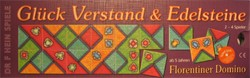 Glück Verstand & Edelsteine - Florentiner Domino