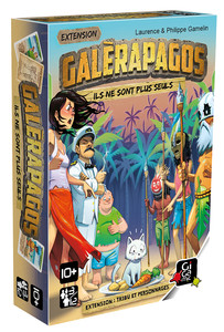 Galérapagos : extensions tribus et personnages