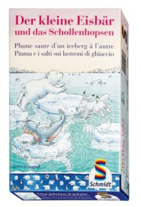 Plume saute d'un iceberg à l'autre