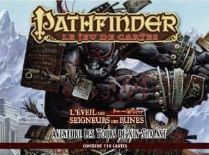 Pathfinder le jeu de cartes : L'Eveil des Seigneurs des runes -  Les Tours de Xin-Shalast