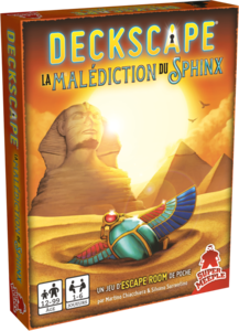 DECKSCAPE - La Malédiction du Sphynx