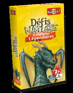 Défis Nature Créatures Légendaires