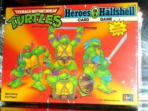 Teenage Mutant Ninja Turtles Heroes in a Halfshell Card Game
