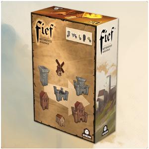 Fief : Pack de bâtiment 3D