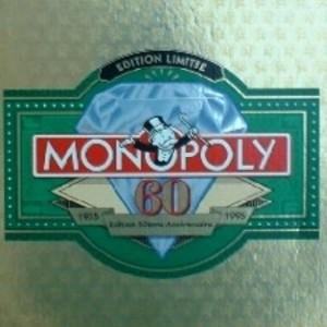 Monopoly - Edition 60ème anniversaire 1935-1995