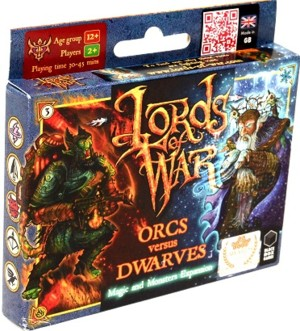 Lords of War: Orcs versus Dwarves 2 – The Magic and Monsters Expansion