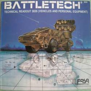 Battletech Technical Readout 3026