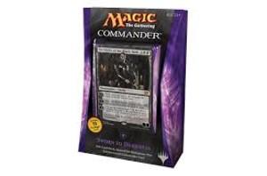 """Magic """"The Gathering"""" ; Commander Deck noir 2014"""