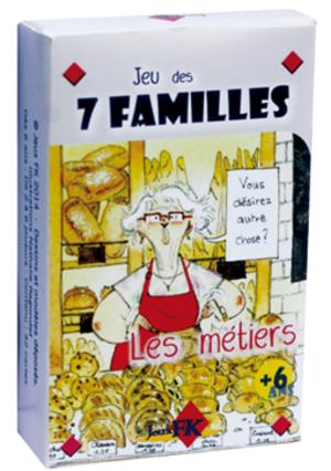 Jeu des 7 familles : les Métiers