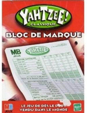 Yahtzee! - Bloc de Marque