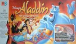 Aladdin et le tapis volant