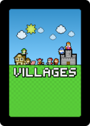 Villages: a Construct and Conquer Card Game