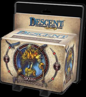 Descent: Voyages dans les Ténèbres (Seconde edition) – Lieutenant Skarn