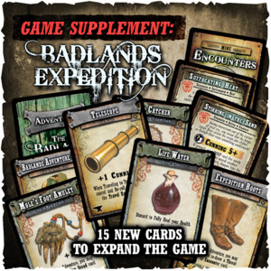 Shadows of Brimstone - Badlands Expedition