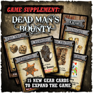 Shadows of Brimstone:  - Dead Man's Bounty Supplement