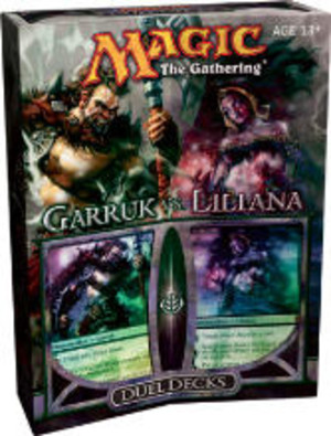 Magic the Gathering - Garruk vs. Liliana