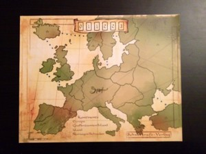 Huit Minutes pour un Empire : Carte Europe