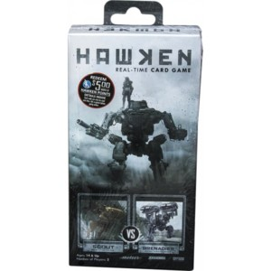 Hawken: Real-Time Card Game - Scout vs Grenadier