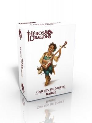 Héros & Dragons - Cartes de sorts - Barde