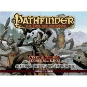 Pathfinder Jeu de cartes : L'Eveil des Seigneurs des runes - La Forteresse des géants de pierre