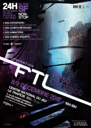 Convention FTL Première édition : FIRST CONTACT - 8 & 9 décembre au CNJ