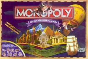 Monopoly - Édition Merveilles du Monde