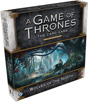 A Game of Thrones: The Card Game, Second Edition - Wolves of the North Expansion