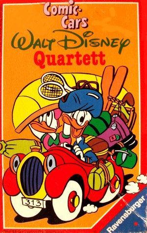 Comic-cars Walt Disney Quartett