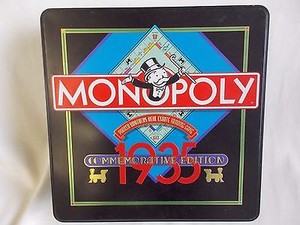 Monopoly 1935 Commemorative Edition