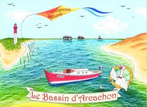 L'oie Capucine Découvre le Bassin d'Arcachon