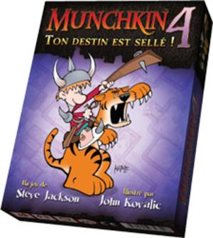 Munchkin 4 : Ton destin est sellé !