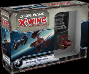X-Wing : Jeu de Figurines - Vétérans Impériaux