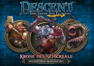 Descent 2. Edition: Krone des Schicksals: Helden- und Monster-Set