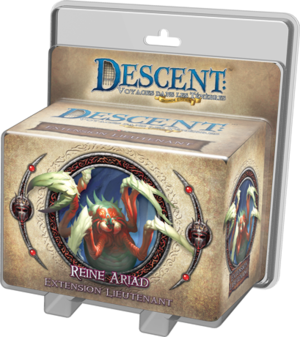 Descent : Voyages dans les Tenebres ! - Pack Lieutenant Reine Ariad
