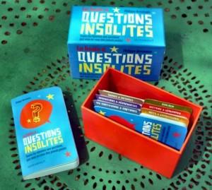 La boîte à questions insolites