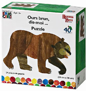 Ours brun, dis moi - Puzzle