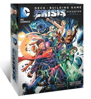 Dc Comics Deck Building Crisis Expansion 1
