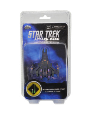 Star Trek : Attack Wing - Vague 3 - 4th Division Battleship