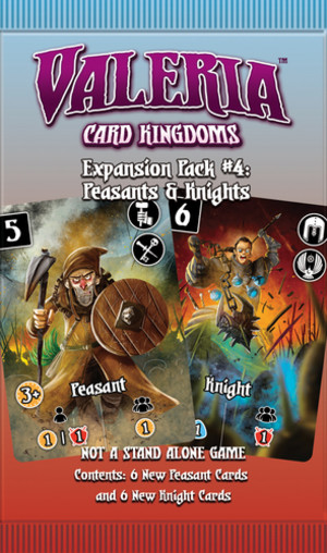 Valeria: Card Kingdoms - Expansion Pack #4 - Peasants & Knights